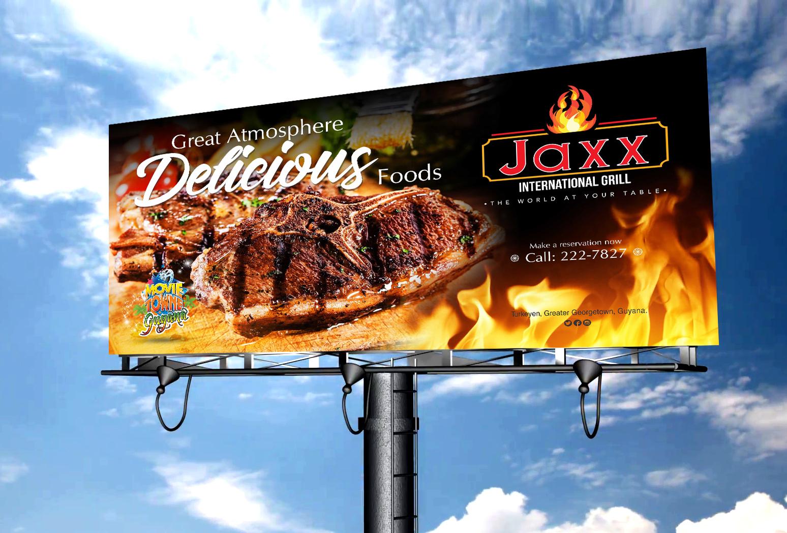 Jaxx Grill Billboard #1