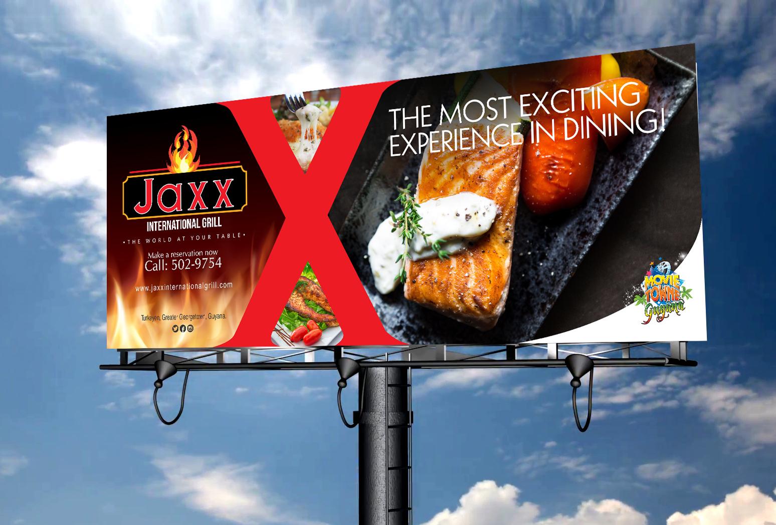 Jaxx Grill Billboard #3